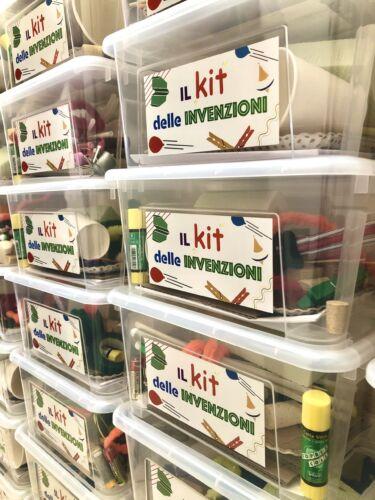 il kit delle invenzioni realizzato da dotik per attività nelle scuole